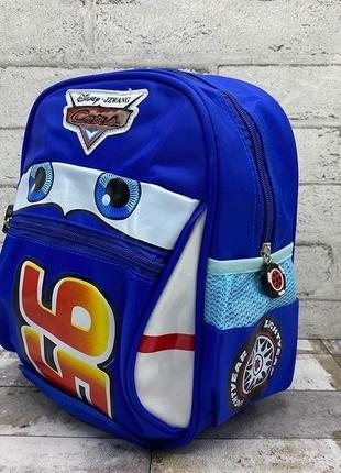 Детский рюкзак для мальчика тачка маквин