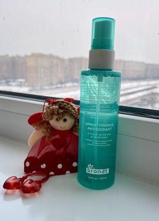 Dr. brandt antioxidant spray toner тонік для обличчя