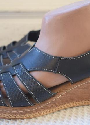 Кожаные босоножки сандали сандалии lasocki р.41 27 см