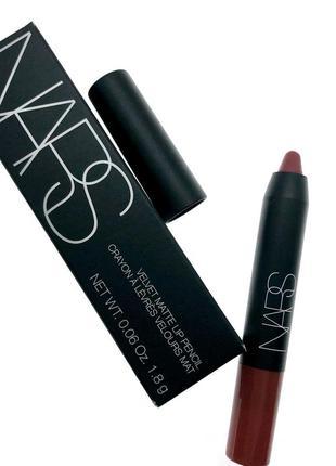 Карандаш для губ nars - velvet matte lip pencil - dolce vita
