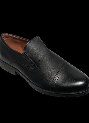 Туфлі чоловічі ptpt d7835 чорні