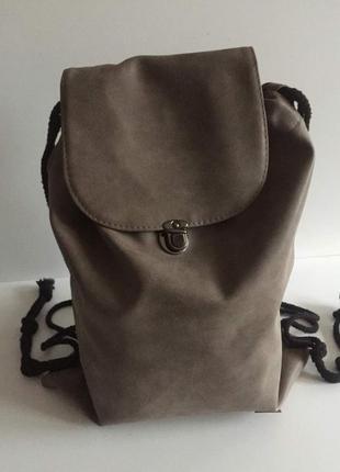 Испанский городской рюкзак из pu-кожи «backpack» ale-hop