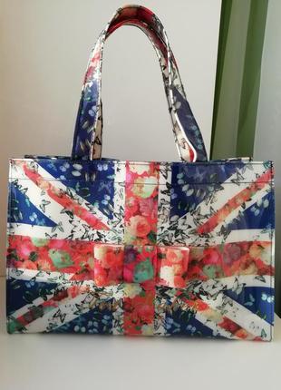 Фірмова англійська сумка шоппер ted baker!!! оригінал!!