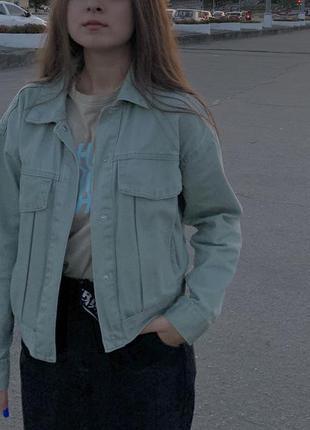 Джинсовая куртка oodjii