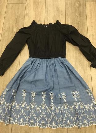 Шикарное платье в стиле прованс