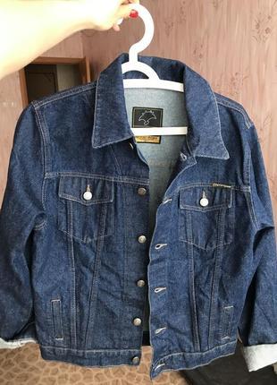 Джинсовка пиджак джинсовый базовый