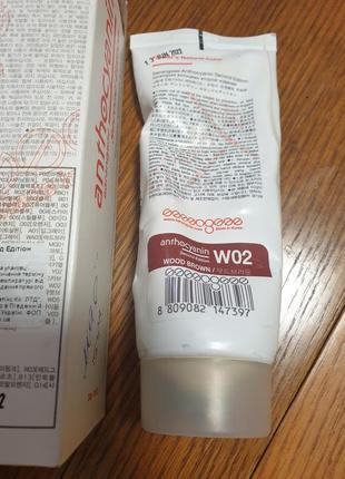 Anthocyanin wo2 wood brown антоцианин краска для волос