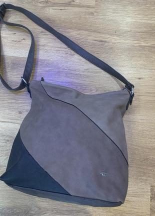 Оригинальная, стильна сумка популярного немецкого бренда tom tailor