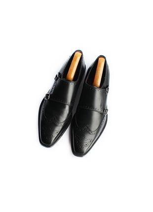 Кожаные туфли монки броги london brogues