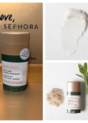 Антиперспирант biossance squalane + bamboo deodorant