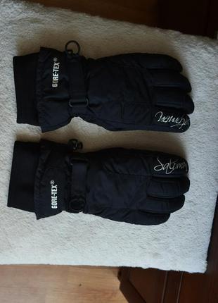 Solomon gore-tex горнолыжные перчатки.