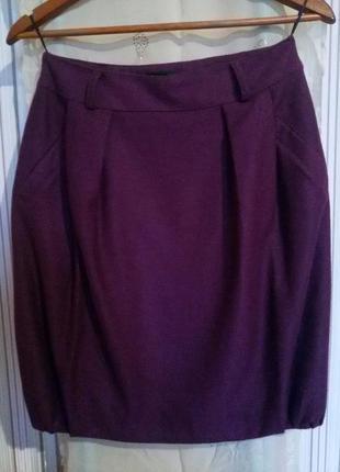 Теплая и стильная юбка