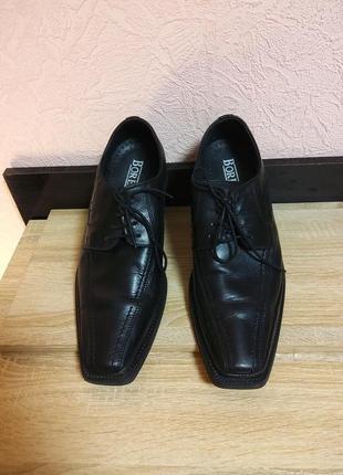 Туфли мужские borelli -натуральная кожа