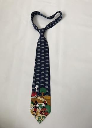 Мужской  коллекционный галстук