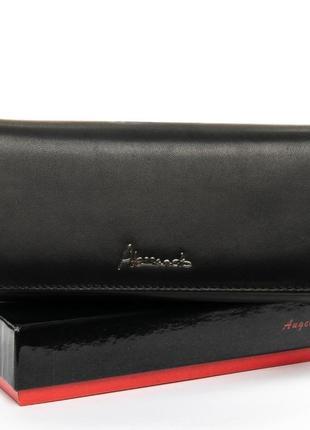 Великий жіночий шкіряний гаманець,  кошельок