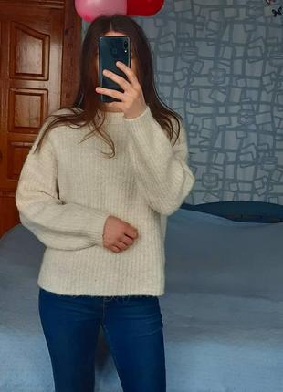 Sale вязаная кофта свитер из акрила m&s collection світер