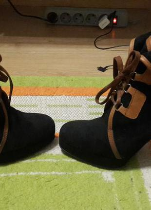 Осенние ботинки rylko