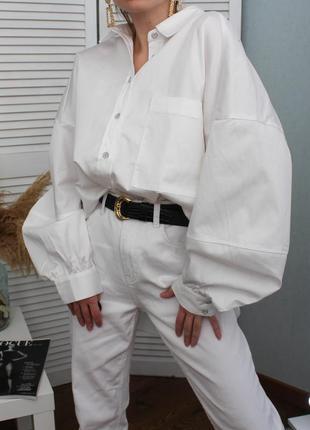 Об'ємна сорочка з принтом багс банні на всю спину