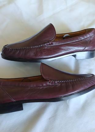 Мужские туфли лоферы bally churchs clarks кожа