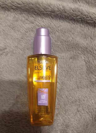 Экстраординарное восстанавливающее масло для поврежденных волос loreal paris elseve