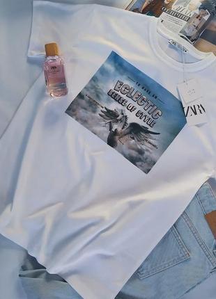 Стильная футболка zara1 фото