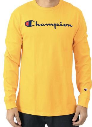Свитшот champion heritage script embroidered худи лонгслив толстовка футболка оригінал!