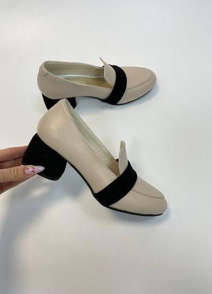 Туфли комбинация цветов на выбор
