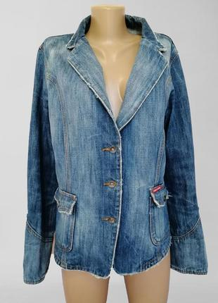 Джинсовый пиджак, джинсовая куртка / джинсовка