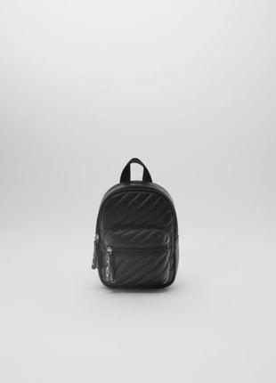 Мини-рюкзак zara