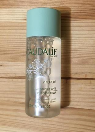 Тоник для лица caudalie vinopure clear skin purifying toner 50 мл