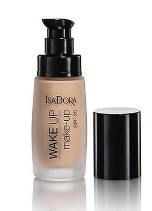 Тональный крем isadora  wake up make-up spf 20.