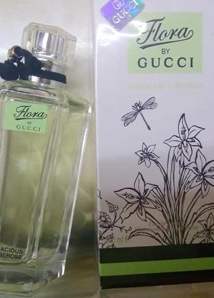 Женская туалетная вода flora by gucci gracious tuberose 100 мл