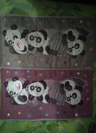 """Набор кухонных полотенец """" панда"""""""