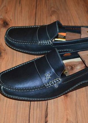 Туфли мокасины dockers - 44 размер оригинал кожа