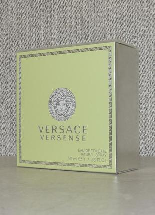Versace versense 50 мл для женщин оригинал