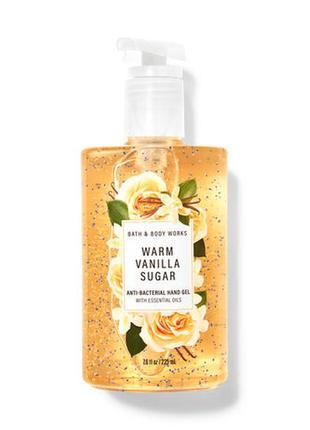 Парфюмированный санитайзер для рук bath and body works warm vanilla sugar 225 мл