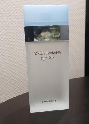 Dolce gabbana light blue 100 ml оригинал