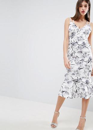 Asos сукня з квітчастим принтом доставка сутки