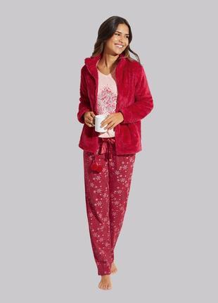 Нова пижама  3 в 1 кофта +штани+тепла кофтинка р. xl
