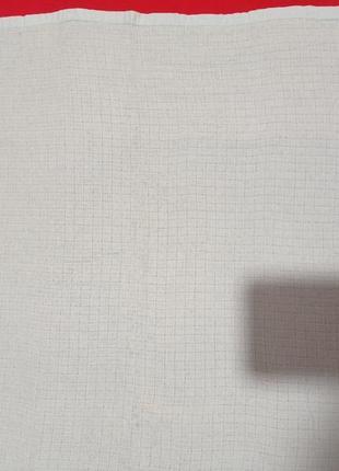 Небесно-голубае кухонное хлопковое 💯 тонкое полотенце