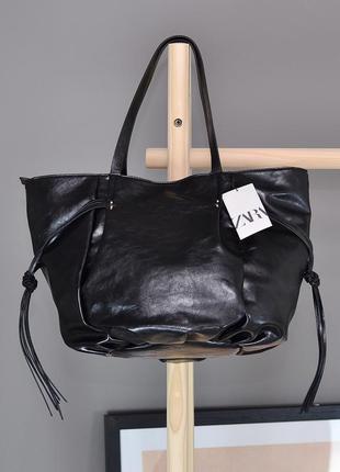 Вместительная сумка zara