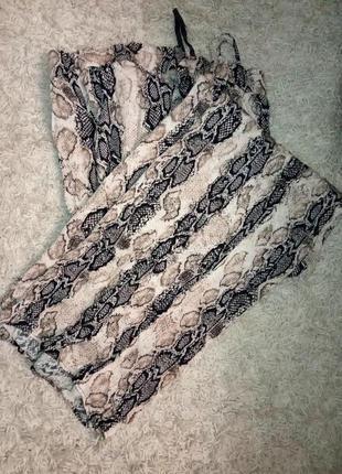 Натуральные стройнящие брюки, штаны, рептилия, жатка, вискоза