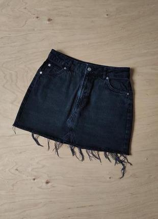 Стильная джинсовая юбка   topshop