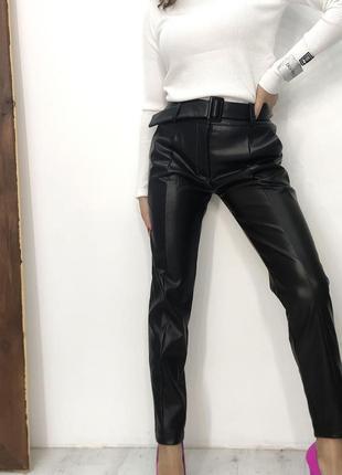 В наявності ❤️❤️❤️ ідеальні шкіряні штани