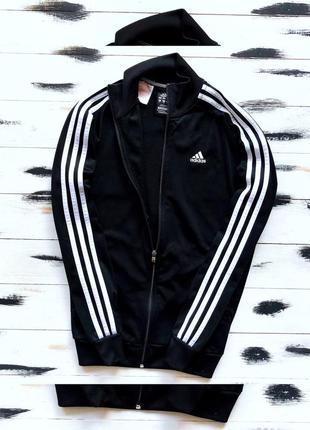 Adidas олімпійка з полосами