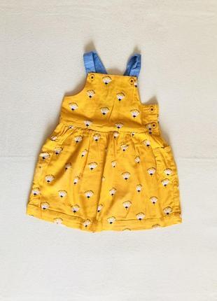 Платье,сарафан!состояние нового!бренд john lewis 9-12 мес.