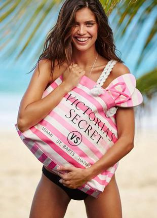 Victoria's secret пляжная сумка victorias secret виктория сикрет