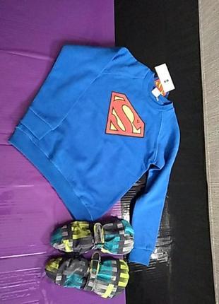 Толстовка супермена 128-134 размер cool club