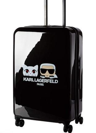Фирменный чемодан karl lagerfeld оригинал