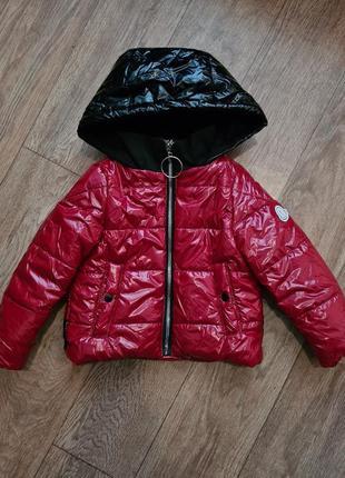 Демисезонная куртка, курточка для девочки
